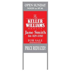 Keller-Williams-by-Stengle-Signs_0007_Keller Keller Williams 18 x 24Standard For Sale Sign