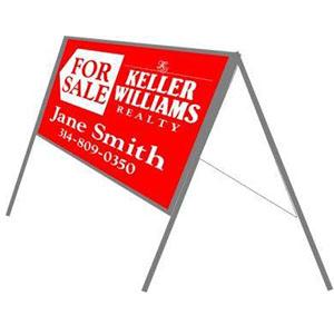 Keller-Williams-by-Stengle-Signs_0009_Keller Folding A Frame_18x24