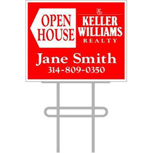 Keller-Williams-by-Stengle-Signs_0010_Keller Custom Open House Arrows Sign